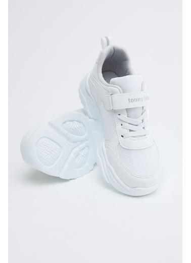 Tonny Black Beyaz Çocuk Spor Ayakkabı Tb0015 Beyaz